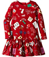 Dolce & Gabbana Kids - Knit Cat Love Dress (Toddler/Little Kids)