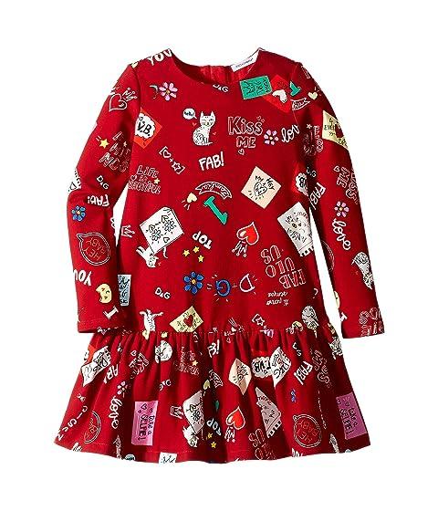 Dolce & Gabbana Kids Knit Cat Love Dress (Toddler/Little Kids)