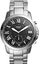 Fossil Hybrid Smartwatch - Q Grant Stainless Steel FTW1158