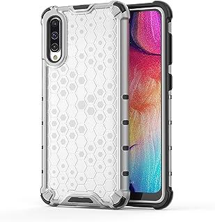 جراب XINKOE لهاتف Samsung Galaxy A30S، مصنوع من مادة TPU 2 في 1 بتصميم خلية النحل [نحيل] [مضاد للخدش] [امتصاص الصدمات] [مت...