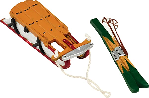 Department 56 Accessories For Villages Skis And Sleds Accessory Figurine