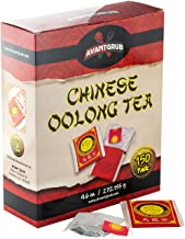 Premium, Full-Flavored Oolong Tea Bags 150 Pack. Traditionally Brewed Caffeinated Drink Helps Brain Functioning. Semi-Ferm...
