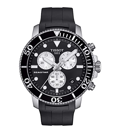 Tissot T-Sport Seastar 1000 Chronograph T1204171705100 (Black) Watches