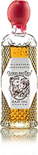 Beard and Lady - Amla Hair Serum Oil - All Natural - Vitamin C - Repair Damaged Hair and Scalp, Promote Growth - Scent of Grapefruit, Vetiver, and Peppermint - 1.7 fl oz