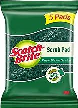 Scotch-Brite Scrub Pad (Regular) - Pack of 5 (packaging may vary)