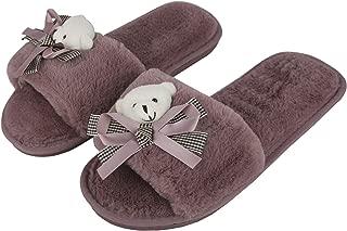 Irsoe Fur Comfortable Indoor/Outdoor Soft Bottom Slippers  Womens Flipflop  Womens Fancy Slippers  Girls Slippers flip Flop
