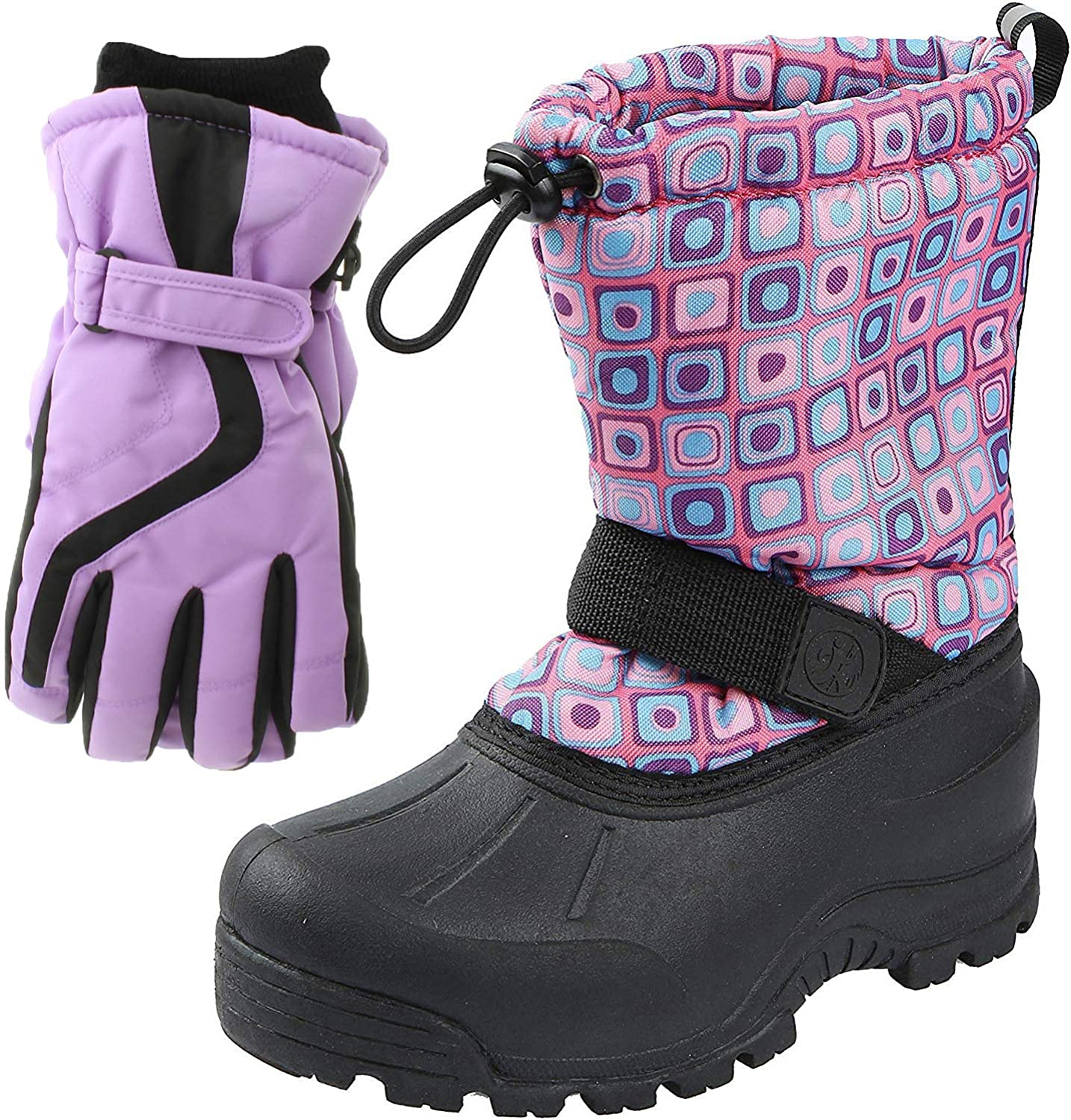 Northside Frosty Winter Manufacturer OFFicial shop Snow Boots with for Water Matching Regular discount Girls