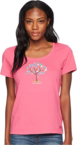 The Love Tree Crusher Scoop Neck Tee