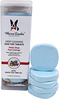 Warren London Deep Cleaning Paw Fizz - Soothing soak to Relieve Irritation and Combat Paw Licking! - 3 Sizes