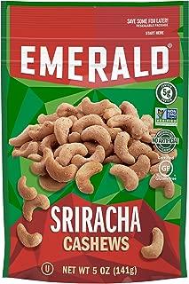 Emerald Nuts, Sriracha Cashews, 5 Ounce Resealable Bag