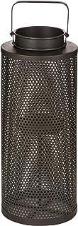 Glitzhome Metal Lantern, 22.5 inch, Black