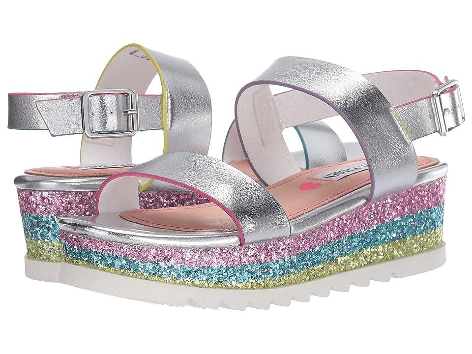 Steve Madden Kids Jkennie (Little Kid/Big Kid) (Silver) Girls Shoes