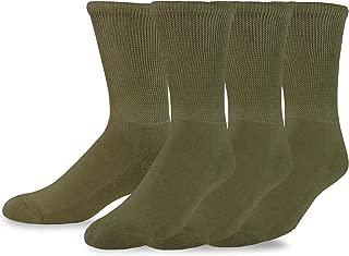 TeeHee Viscose from Bamboo Diabetic Crew Socks 3-Pack