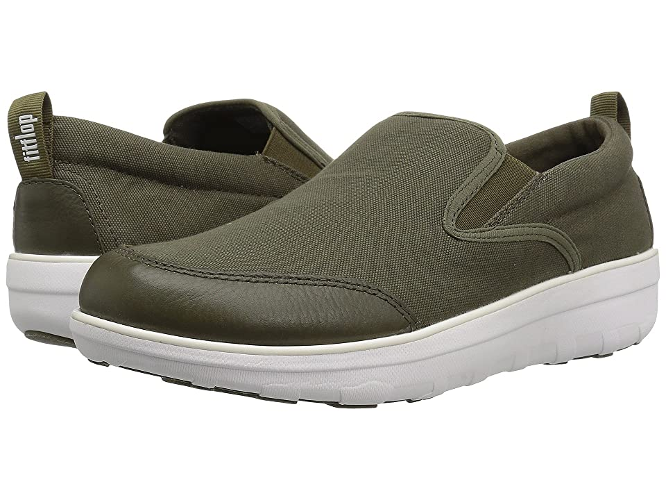FitFlop Loaff Skate (Camouflage Green) Men
