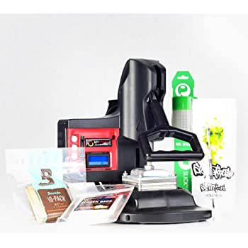 MyPress Gen 2 Deluxe Kit - 25-Micron Bags - Stainless Steel Tool - Silicone Mat - Humidity-Regulation Packs