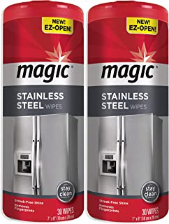 Best magic stainless steel wipes Reviews