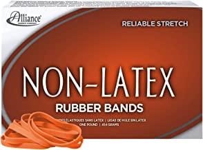 Alliance Rubber 37646#64 Non-Latex Rubber Bands, 1 lb Box Contains Approx. 380 Bands (3 1/2