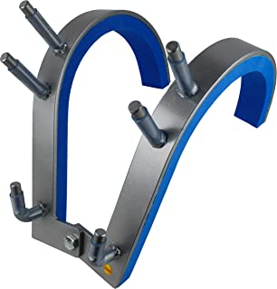 Robert Baraban Zercher Harness Medium, Front Squat Harness, Front Squat Training Device, Grey-Blue