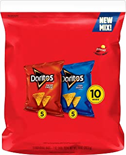 Doritos Mix (Nacho Cheese and Cool Ranch), 10 Count