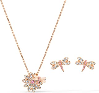 SWAROVSKI Women's Jewelry Sets, Crystal Necklace and Earrings Collection