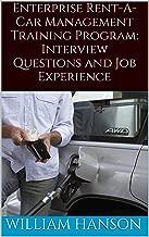 Enterprise Rent A Car Management Training Program Interview Questions, Job Experience and Enterprise Management Trainee Interview Process
