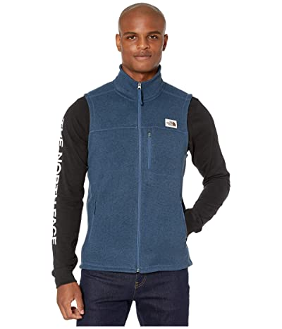 The North Face Gordon Lyons Vest (Shady Blue Heather) Men