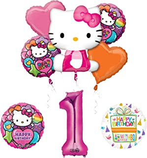 Best hello kitty 1st birthday party supplies Reviews