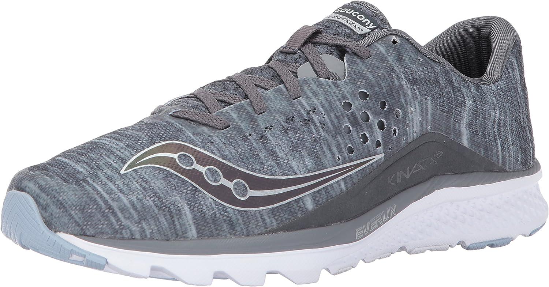 Saucony Saucony Saucony herrar Kinvara 8 springaning skor, grå, 9.5 UK  10.5 M USA  modern