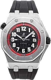 Audemars Piguet Royal Oak Offshore Mechanical (Automatic) Black Dial Mens Watch 15701ST.OO.D002CA.03 (Certified Pre-Owned)