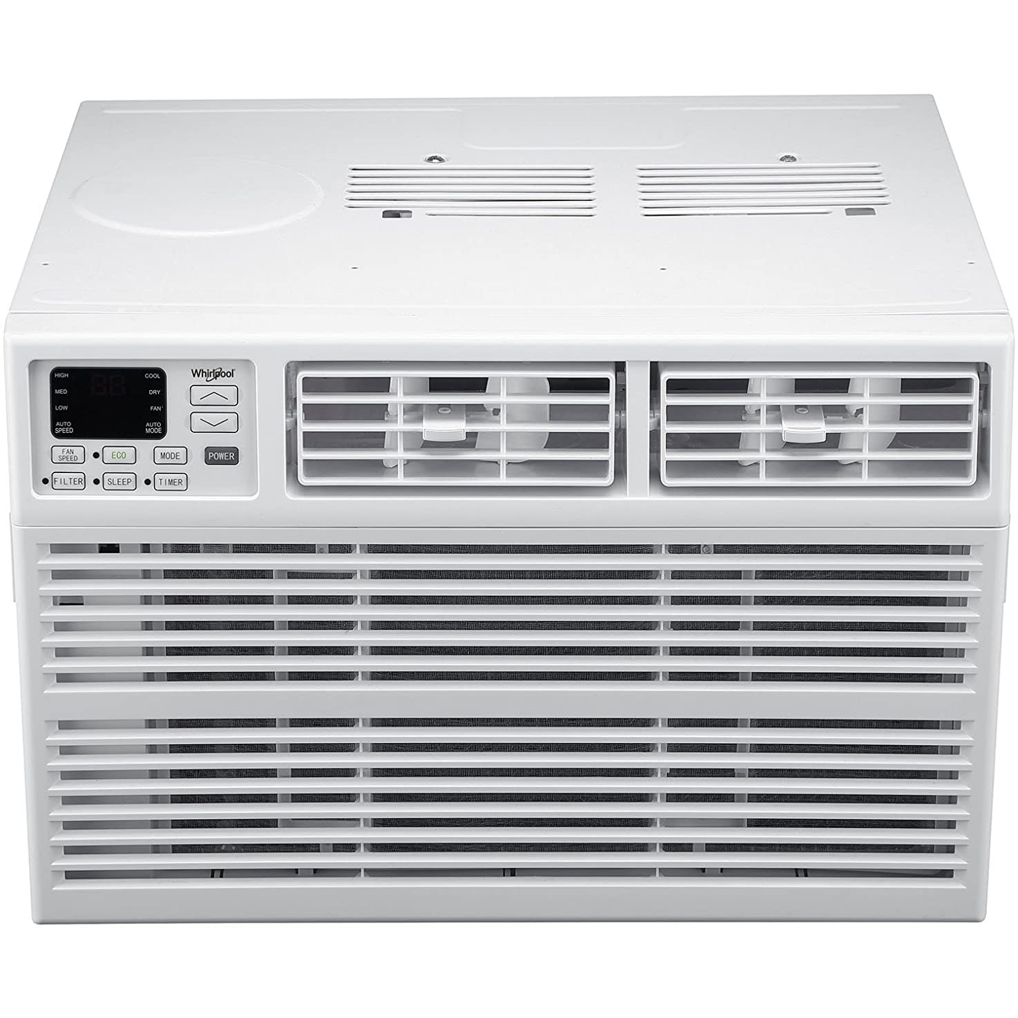 Whirlpool Energy Star 15,000 BTU 115V Window-Mounted Air Conditioner with Remote Control, White ljivagwlsfevm0