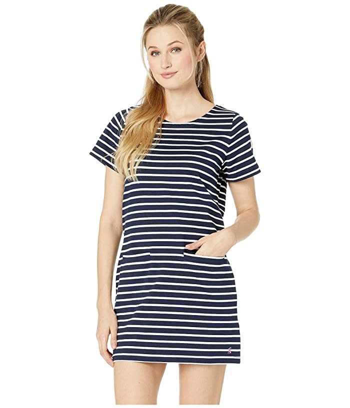 Joules Quinn (Navy Cream Stripe) Women