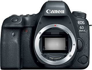 Canon EOS 6D Mark II Digital SLR Camera Body, Wi-Fi Enabled