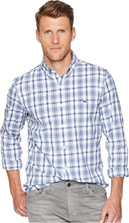 Deacon Plaid Slim Tucker Shirt