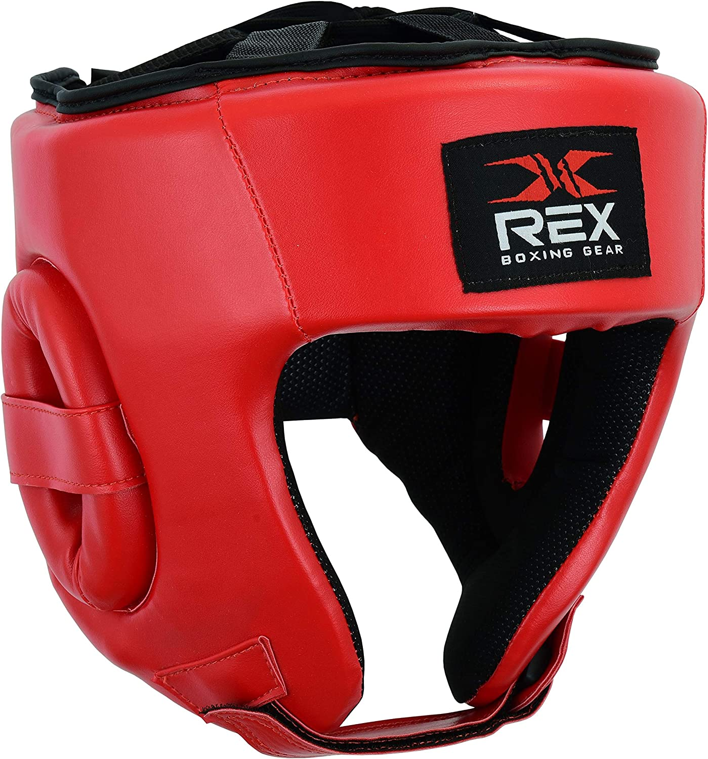 Sparring Head Protection and Punching Mitts Muay Thai REX Boxing Set Gloves Head Guard Boxing Set MMA Kick Boxing Fighting