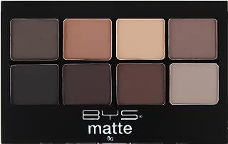 BYS Eyeshadow Makeup Palette 8 Shades- Matte Neutrals