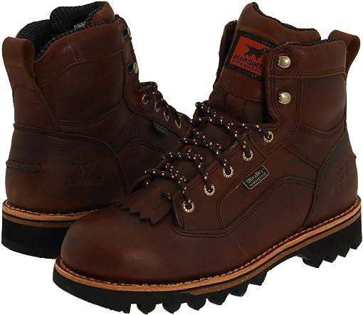 Soggy Auburn Leather