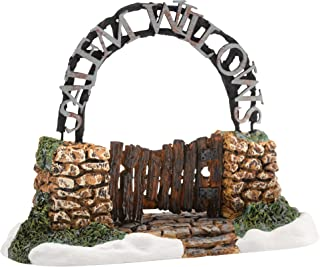 Department 56 New England Village Salem Willows Gate Accessory, 1.97 inch