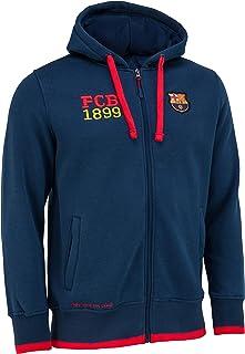 F.C. Barcelona - Sudadera con capucha del F. C. Barcelona (colección oficial del F.C. Barcelona, talla de adulto)