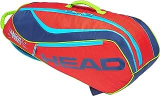 HEAD Novak Djokovic Junior Combi 6 Tennis Racket Bag