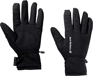 Jack Wolfskin Unisex-Adult Stormlock Hydro Glove, Black, XL