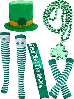 COSAVOROCK St Patricks Day Chapeau Haut de Forme