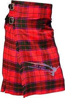 Traditional Scottish Rose 5 Yard & 13Oz Tartan Kilt - Tartan Kilts