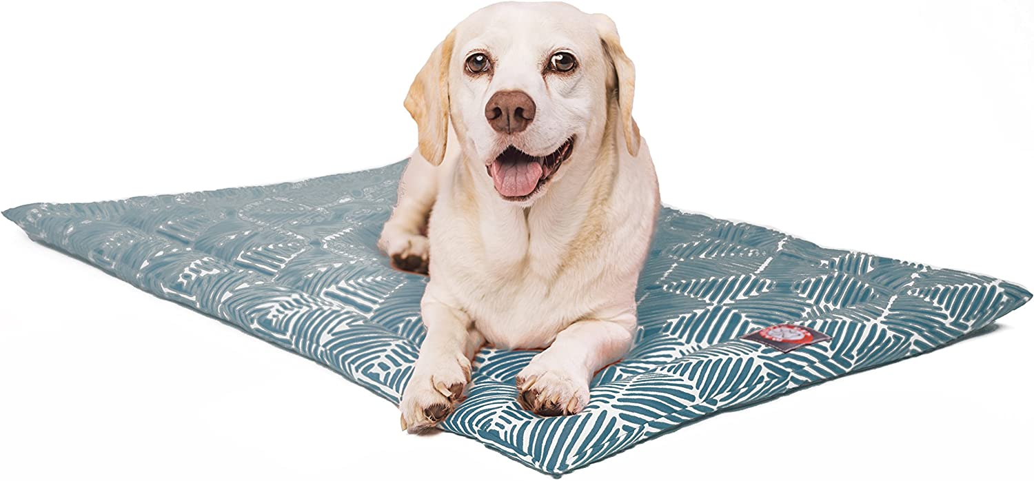 36  Charlie Emerald Green Crate Dog Bed Mat by Majestic Pet Products