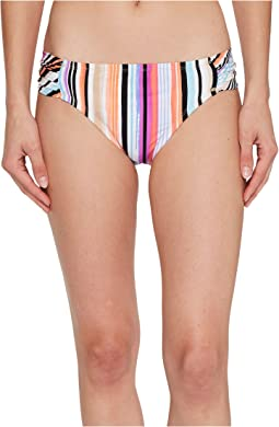 Kenneth Cole Over The Rainbow Sash Tab Hipster Bikini Bottom