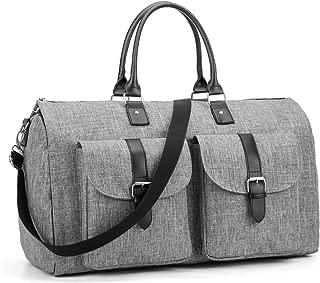 Amzbag Expandable Travel Duffel Bag Overnight Large Capacity Weekender Bag