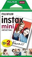 Fujifilm Instax Mini, 10 sheet x 2 pack, White
