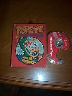 Popeye Ghost Ship to Treasure Island (Big Little Books)