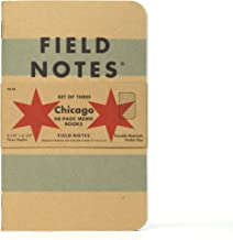 Field Notes Chicago Graph Paper 3-Pack