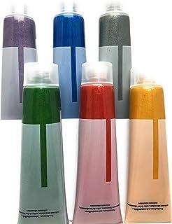 colores de alimentos metálicos 6 x 12ml