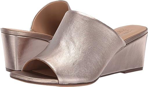 Light Bronze Metallic Leather